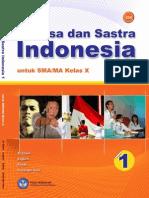 SMA-MA Kelas 10 - Bahasa Dan Sastra Indonesia