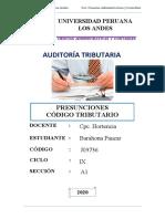 PRESUNCIONES CÓDIGO TRIBUTARIO