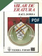 Hablar De Literatura - Raul Dorra.pdf