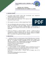 2. Prueba de Cátedra - América Latina IV - 02  - 2020