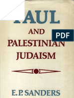 Paul and Palestinian Judaism - E. P. Sanders
