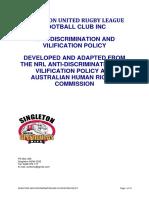 surlfc inc discrimination policy