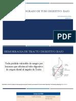 Síndrome de sangrado de tubo digestivo (1)