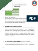 050-240 Derecho Mercantil III