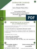 Pruebas de Calidad en Carne Tecnología Agroindustrial III