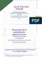 IT626M-Promocion de la Radiodifusion Digital