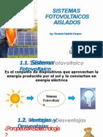 Sistemas Fotovoltaicos Aislados UAG