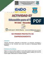Actividad 07 - EPT VERTIZ