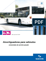 Amortiguadores para vehículos comerciales de servicio pesado
