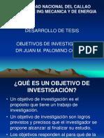 4. OBJETIVOS DE INVESTIGACIÓN