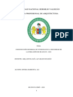 CONSTRUCCIÓN INFORMAL DE VIVIENDAS EN LA SEGURIDAD DE LA POBLACIÓN DE HUANUCO