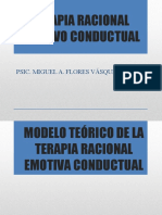 TREC MIGUEL - MODELO TEÓRICO DE LA TERAPIA RACIONAL EMOTIVA CONDUCTUAL.pptx