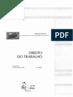 Renato Saraiva - Direito do Trabalho Para Concursos Públicos, 10ª ed. (2009)