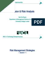 Handouts Risk Management Strategies