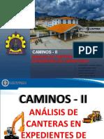 ANALISIS DE CANTERAS