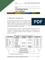 Estudios y parametros basicos de diseño