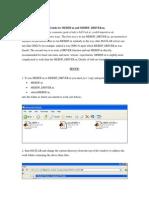 User Guide for MEBDF