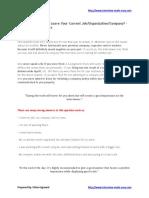 whydoyouwanttoleaveyourcurrentjob-organization-company-140529042224-phpapp01
