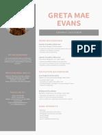 Gray Sidebar Graphic Design Resume