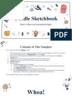 Doodle Sketchbook by Slidesgo