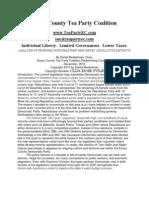 NJ 2011 Legislative Redistricting Plan (Tea Party)