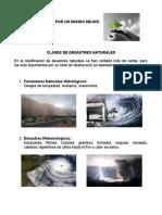 Clases de Desastres Naturales