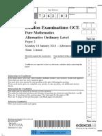 2010 Jan P2 QP.pdf
