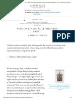 frumkin_subcontinental-lithiation_pt-1