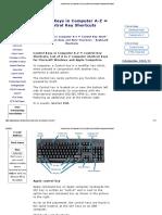 Control Keys in Computer A-Z _ Control Key Shortcuts Keyboard Shortcut.pdf