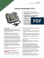 Ductor Tester DLRO10HD_DS_fr_V01