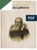 Estudios galileanos - Alexandre Koyré