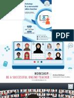 Be a Successful Online Teacher