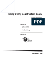 Rising Utility Construction Costs