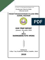 Kum 2010 Kohhran Report