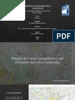Cartas Topográficas