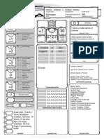 D&D 5th Edition Eberron Character