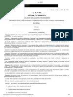 Ley 18.407 Sistema Cooperativo Año 2008