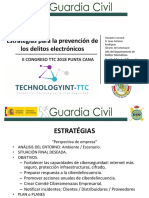 Estrategias Cibercrimen en el II CONGRESO IFC-2018