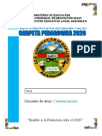 CARPETA DIDACTICA 2020