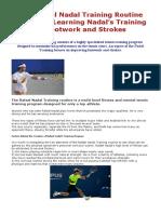 The Rafael Nadal Training Routine Exposed