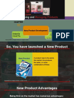 Managing new Products after launch