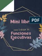 Mini libro funciones ejecutivas