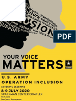 Your Voice Matters -Flyer Handouts - 6 July 2020