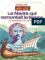 Le navire qui remontait le temps by Ebly, Philippe