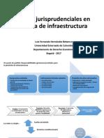 2017-11-17 - Luis Hernández - Señales jurisprudenciales en infraestructura