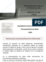 6.13 Procesamiento Datos