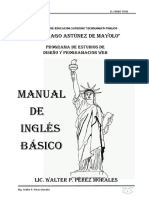 Manual Del Verbo Tobe y Pronom