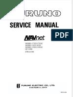 NAVNET dokumentips service manual