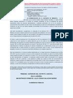 2014-00526 Contrato. Honorario abogado. Contrato de mandato. Remuneración. Colegio nal Abogados. Martha Grajales (2)