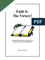 Faith is the victory.pdf